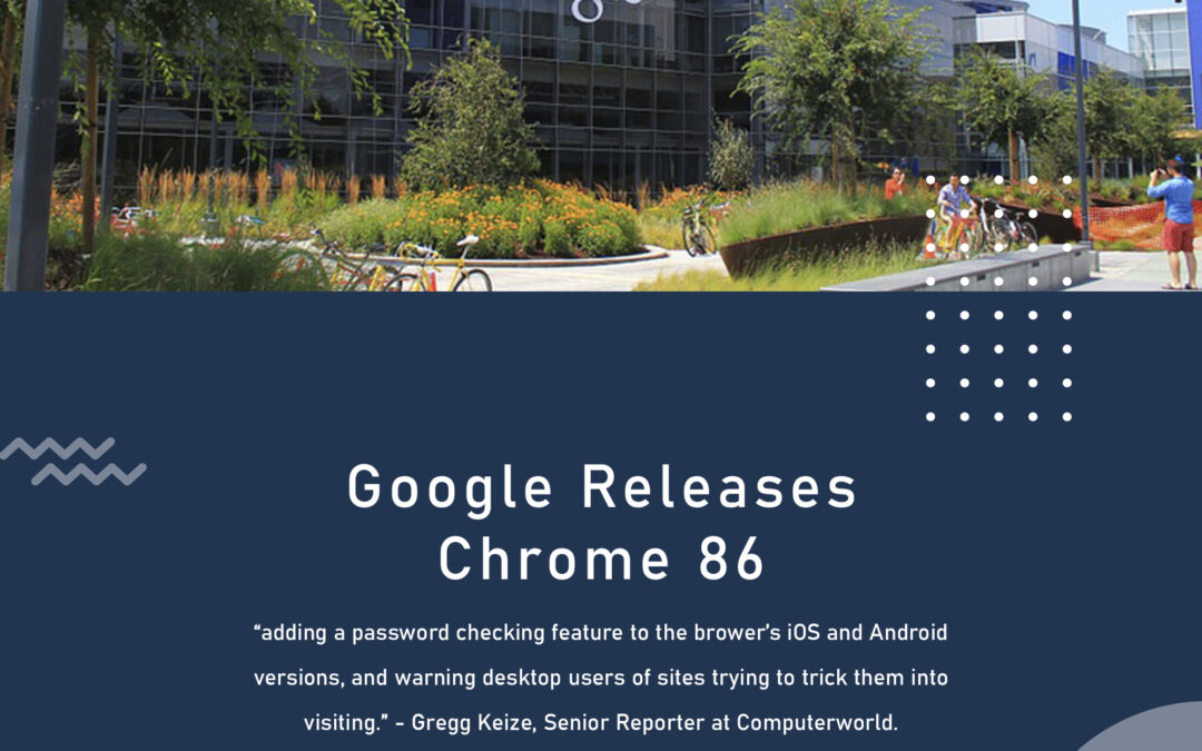 Google Releases Chrome 86