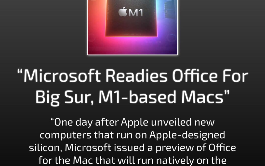 Office On M1-Based Macs