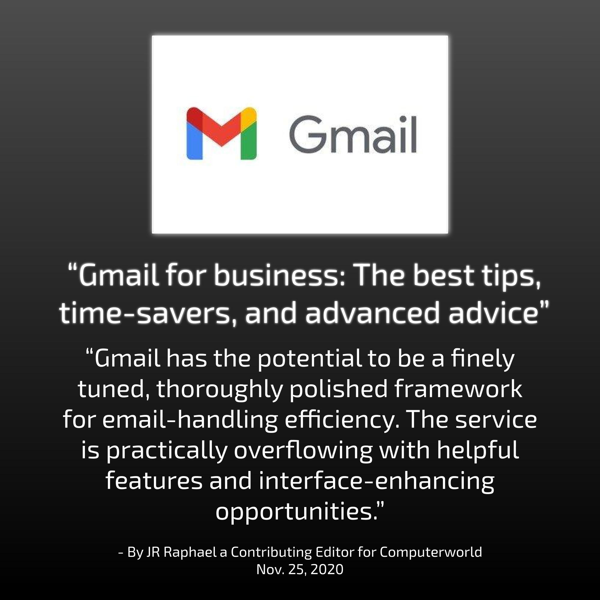 Gmail For Businesses